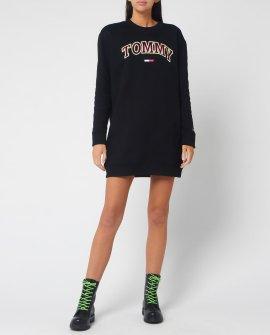 Tommy Jeans Women's Logo Sweatshirt Dress