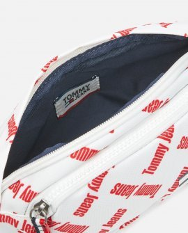 Tommy Jeans Women's Cool City Nylon Bumbag - White Print