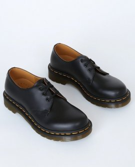1461 W Black Smooth Leather Oxfords