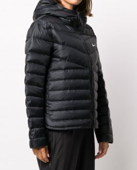 Nike hooded padded jacket