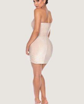 PALMA Strapless Wrap Dress