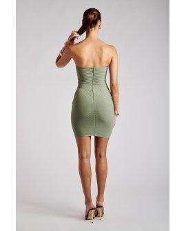 LYLAH Strapless Mini Bandage Dress - Sage
