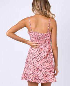 Deniz Mini Dress Blush