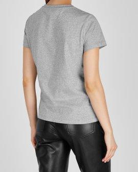 Kenzo Grey logo-print cotton T-shirt