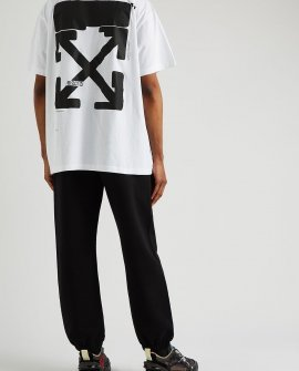 OFF-WHITE Tech Marker printed cotton T-shirt
