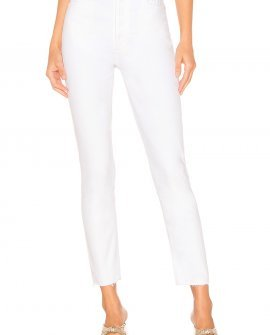 AGOLDE White Nico High Rise Slim Fit Jeans