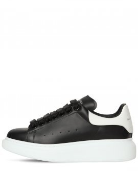 Alexander McQueen Bicolor Leather Sneakers