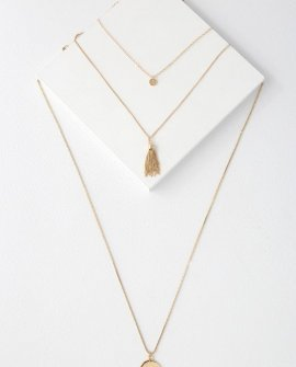 Antheia Gold Layered Necklace