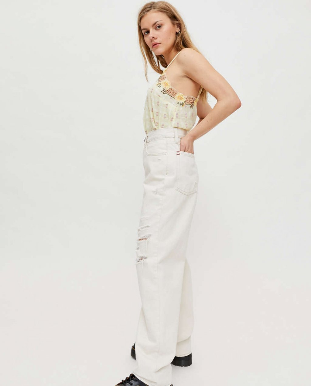 BDG High-Waisted Baggy Jean