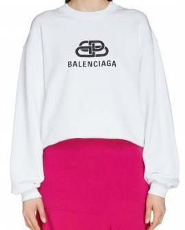 Balenciaga Interlocking BB Logo Sweatshirt