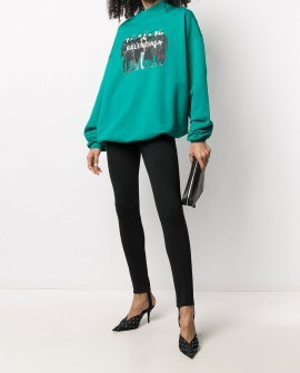Balenciaga Real graphic-print sweatshirt