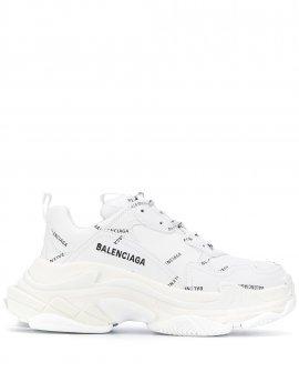 Balenciaga all-over logo Triple S sneakers