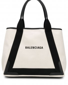 Balenciaga medium Navy Cabas bag