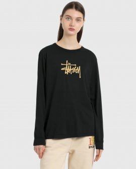 Basic Stussy Long Sleeve T-Shirt