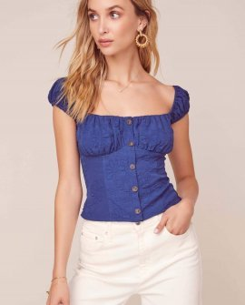 Billie Jean Puff Sleeve Top