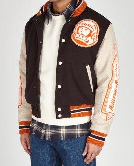 Billionaire Boys Club Astro appliquéd felt bomber jacket