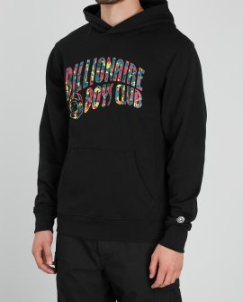Billionaire Boys Club Black logo-print cotton sweatshirt
