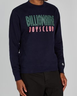 Billionaire Boys Club navy cotton sweatshirt