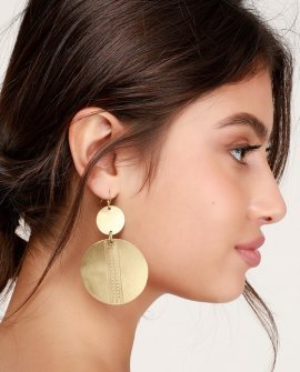Bohemian Dreams Gold Earrings