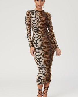 Cadence Long Sleeve Midi Dress