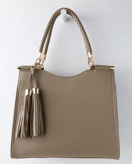 Calbira Taupe Handbag