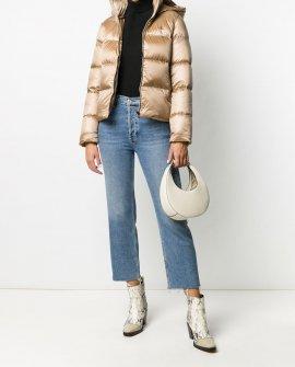 Calvin Klein Jeans logo-print puffer jacket