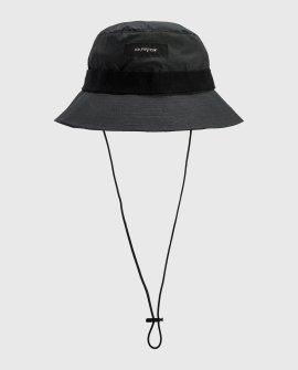 Canvas Band Finish & Drawstring Bucket Hat