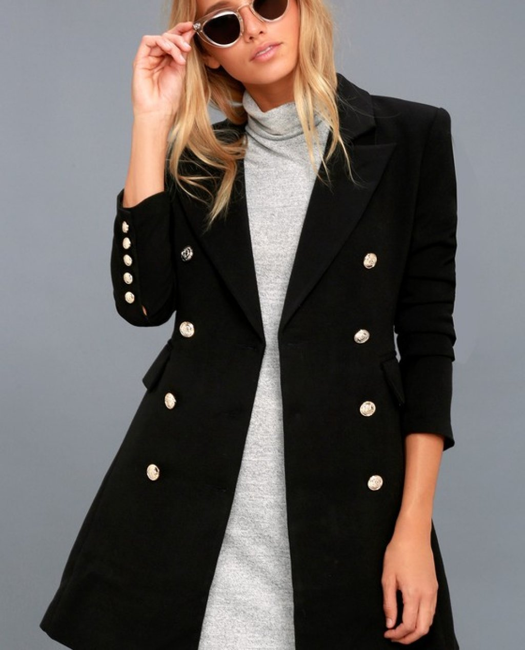Captains Blog Double-Breasted Coat
