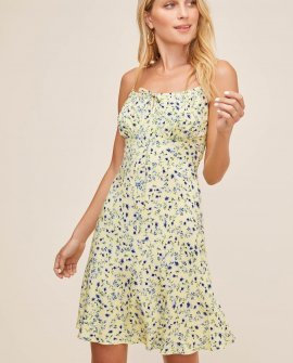 Chalet Floral Mini Dress