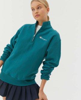 Champion Reverse Weave Quarter-Zip Sweatshirt
