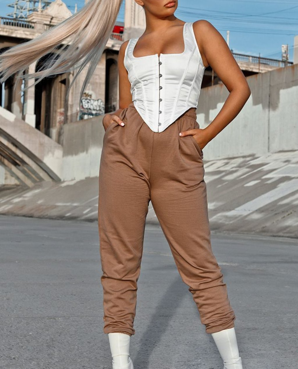 Chocolate Casual Joggers