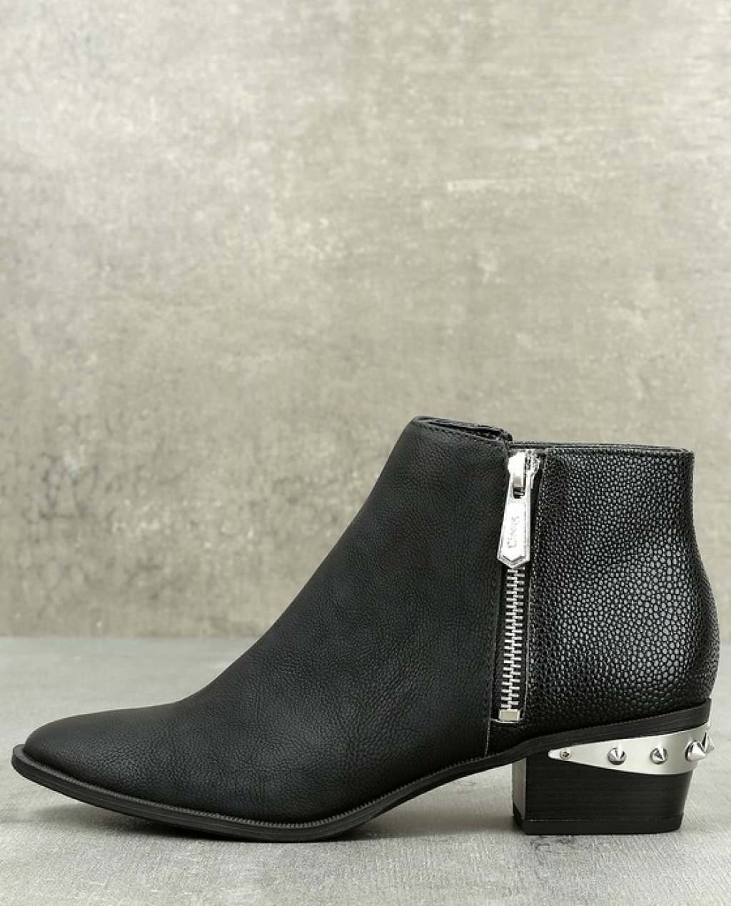 Circus by Sam Edelman Holt Black Leather Ankle Boots