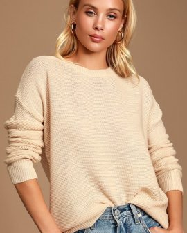 Corinna Cream Knit Sweater