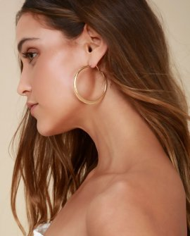 Current Fave Gold Hoop Earrings