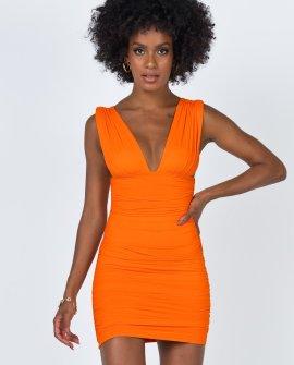 Danielle Mini Dress Orange