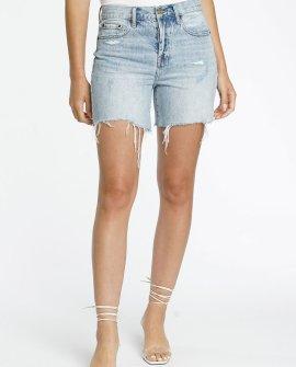 Devin High Rise Mom Cut Off Shorts - St Tropez
