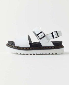 Dr. Martens Voss Black Leather Sandal