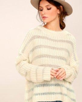 Elsa Cream Knit Sweater
