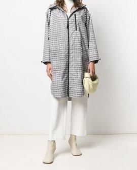 Fendi FF logo-print raincoat