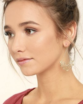 Flourish Gold Earrings