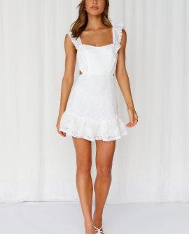 Forever Love Dress White