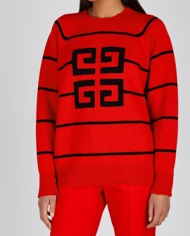 Givenchy 4G intarsia wool-blend jumper