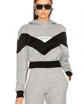 Givenchy Logo Hoodie in Grey