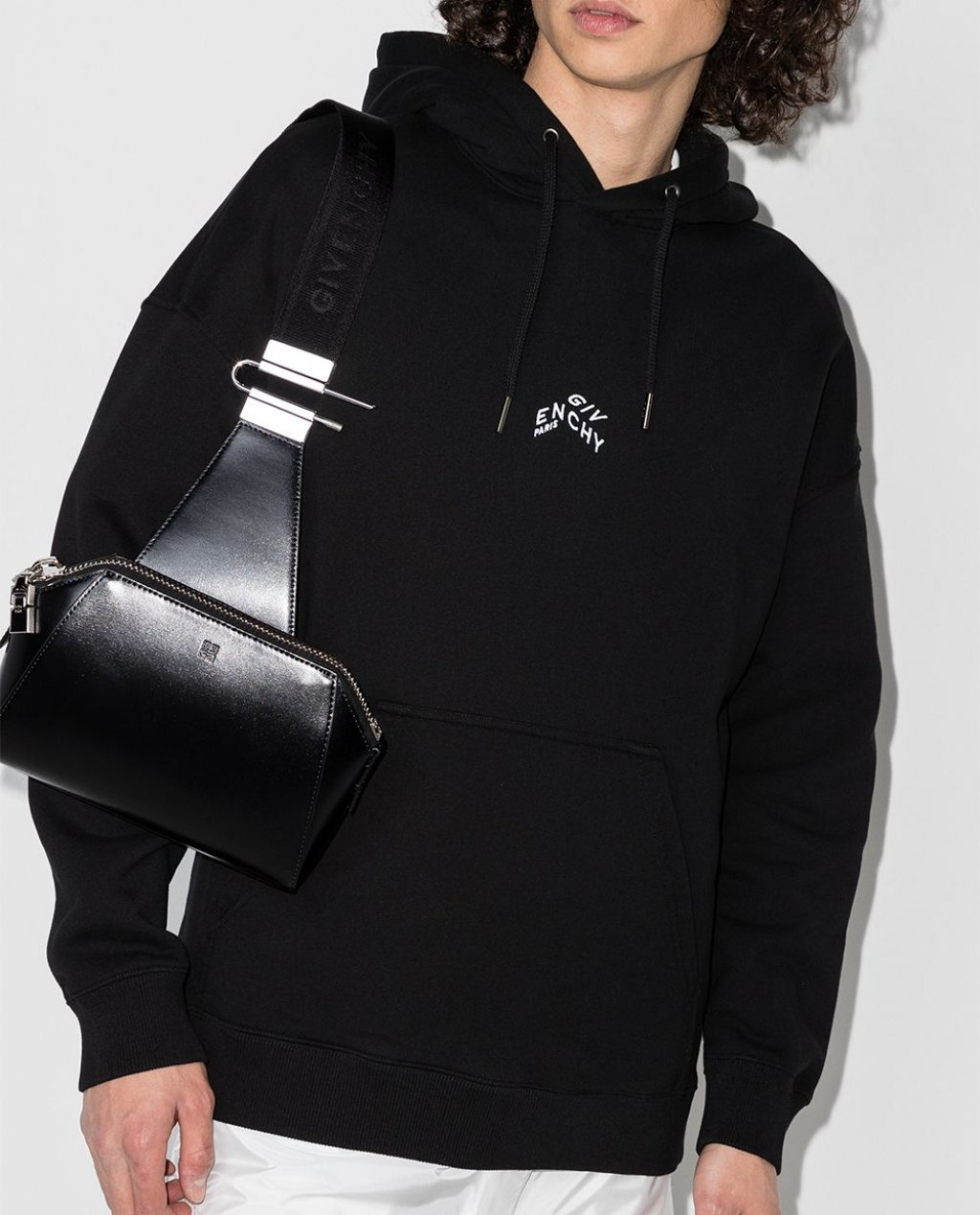 Givenchy Refracted Logo cotton hoodie