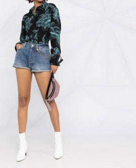 Givenchy chain-detail denim shorts