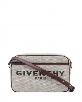 Givenchy embroidered logo crossbody bag