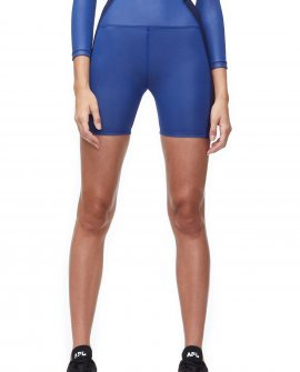 High waisted mid-thigh bike short
