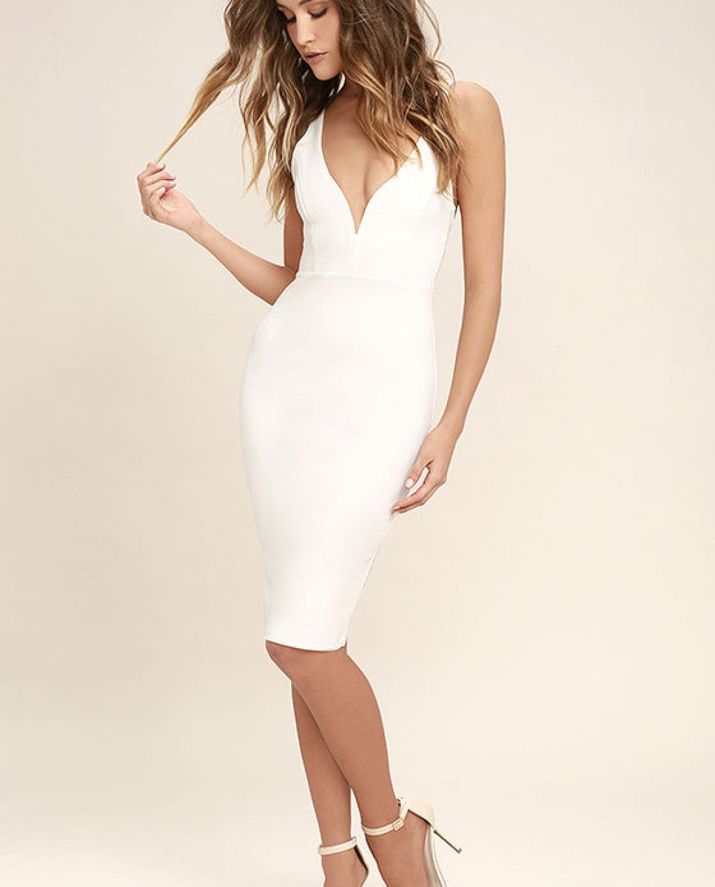 Gracefully Yours White Dress