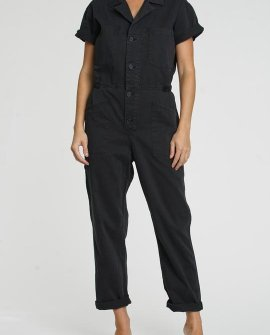 Grover Short Sleeve Field Suit - Fade To Black