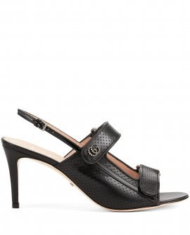 Gucci Double G perforated sandals